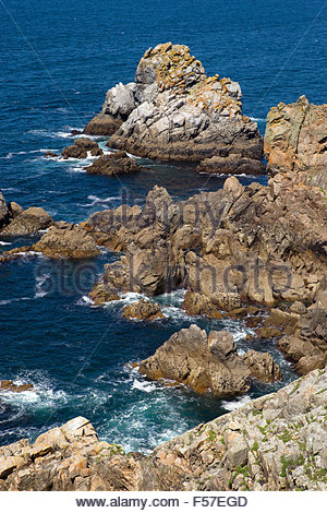 Pointe du Raz - Cap Sizun - Finistère - Brittany (Bretagne) - France - Stock Image