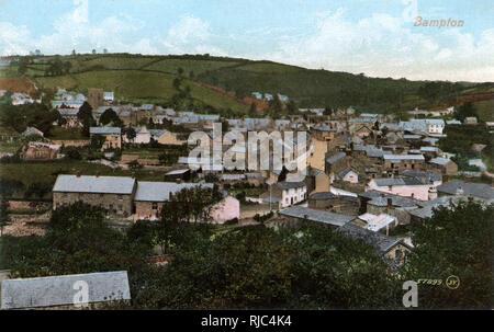 Bampton, Devon. - Stock Image