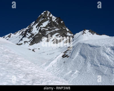 Bric Bouchet, Parc regional du Queyras, French Alps - Stock Image