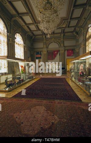 Azerbaijan, Baku, National Museum of History of Azerbaijan, interior - Stock Image