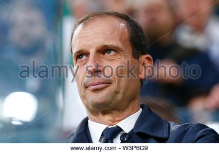 massimiliano allegri, juventus-atalanta, torino 19.05.19 - Stock Image
