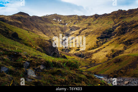 Summer in Iceland - Stock Image