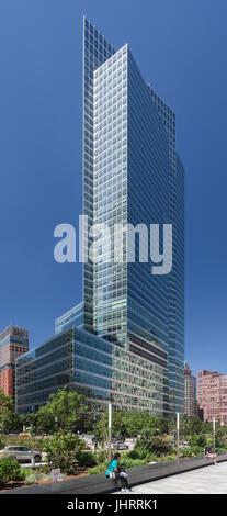 Golman Sachs Headquarters in Downtown Manhattan - Stock Image