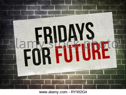 Fridays for Future - Stock Image