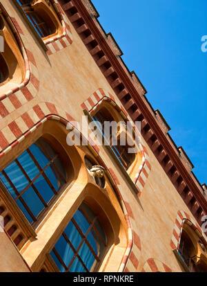 Italian Building - Stock Image