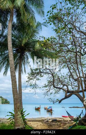 Thailand, Satun province, Mu Ko Phetra Marine National Park, Ko Bulon Leh island, Panka Yai bay - Stock Image