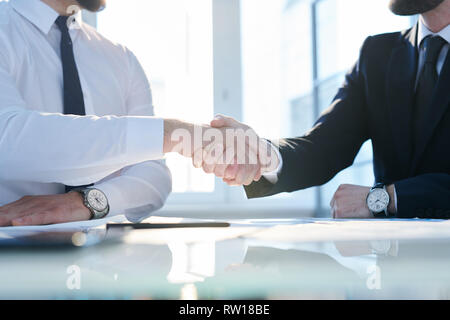 Greeting each other - Stock Image