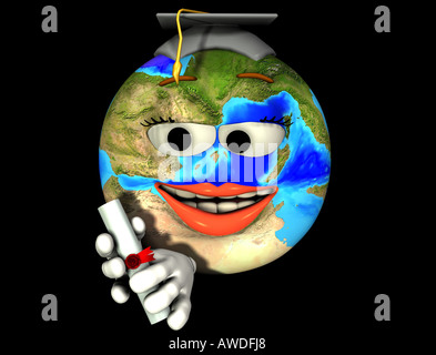 wise earth - Stock Image