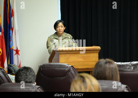 The California National Guard celebrated Women's Equality Day on Aug. 28, 2017, at the Military Department headquarters - Stock Image