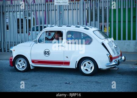 1971 Seat 600. Retro Málaga 2019. Spain. - Stock Image