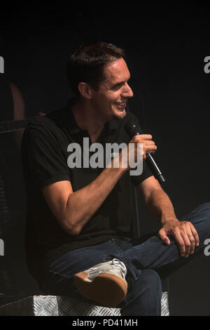 Grand corps malade, Festival Bout du Monde to Crozon Brittany - Stock Image