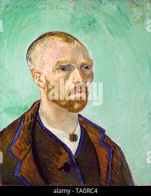 Vincent van Gogh, Self portrait (dedicated to Paul Gauguin), Arles, September 1888 - Stock Image