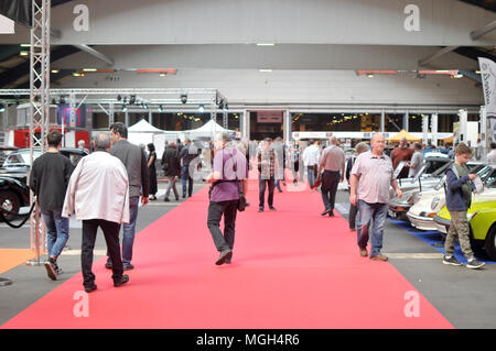 automobile motorcycle show - Salon Auto moto - Stock Image