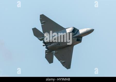 Lockheed Martin F22 Raptor - Stock Image