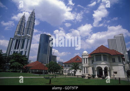 The City centre in the city of  Kuala Lumpur in Malaysia in southeastasia. - Stock Image