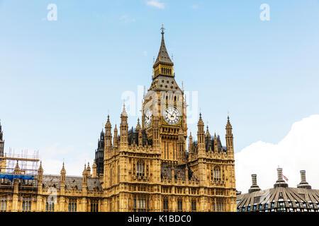 elizabeth tower, Big Ben, Houses of Parliament, big ben clock, houses of parliament London UK, London bridge, London UK England, UK parliament, big Be - Stock Image