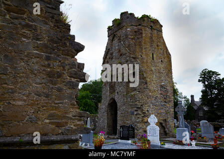 Knocktopher Church (Eaglais Cnoc an Tochair), Kilkenney, Eire - Stock Image