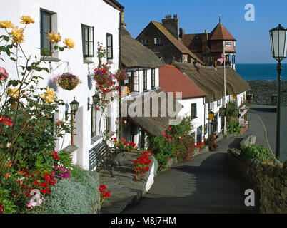 Mars Hill, Lynmouth, Devon, England, UK - Stock Image