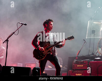 Kelly Jones of the Stereophonics plays the Victorious festival in Portsmouth, England in 2017 - Stock Image