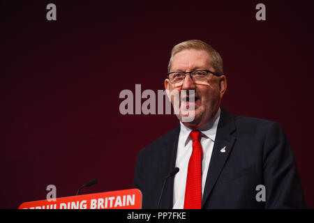 Labour Conference Liverpool 2018 - Stock Image