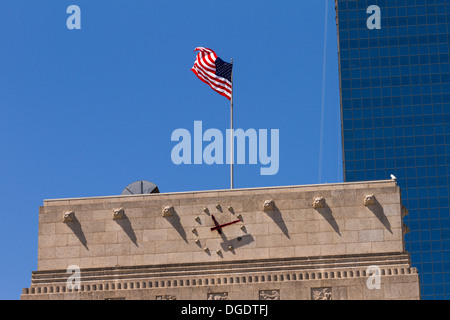 Houston City Hall Texas USA - Stock Image