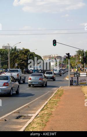 W3 Norte Asa Norte Brasilia Brazil - Stock Image