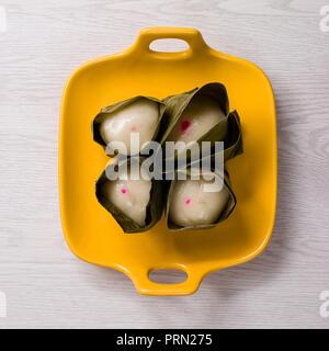 Food Peanut Glutinous Rice Balls - Stock Image