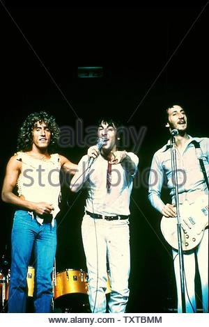The Who Credit: 377643_Globe Photos/MediaPunch - Stock Image