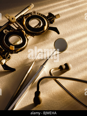 A Selection of Medical Instruments - Stock Image