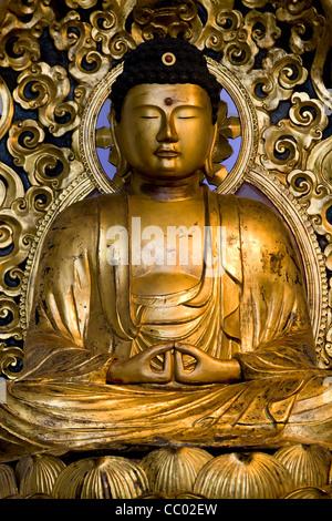 Buddha statue - Stock Image