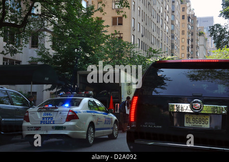 Police car, New York City, USA - Stock Image