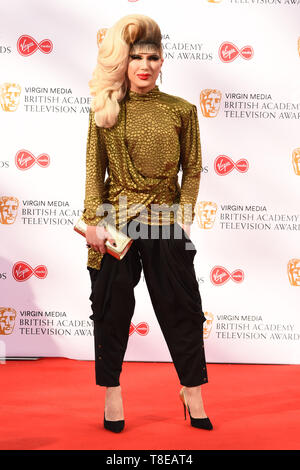 LONDON, UK. May 12, 2019: Jodie Harsh arriving for the BAFTA TV Awards 2019 at the Royal Festival Hall, London. Picture: Steve Vas/Featureflash - Stock Image