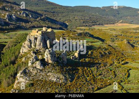 Spain Loarre campaign in Aragon - Stock Image