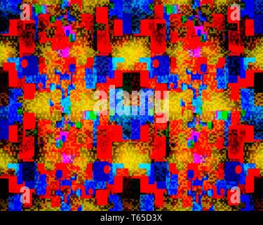 DIGITAL ART: Pixel Recovery - Stock Image