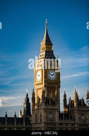 The Elizabeth Tower (previously called the Clock Tower or St. Stephen's Tower), more popularly known as Big - Stock Image