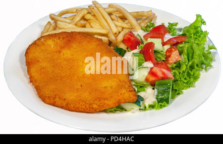very large pizza, burger, patty, second course in the restaurant, fast food, food, healthy food - Stock Image