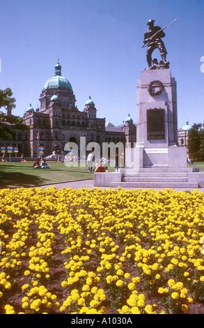 Victoria British Columbia Canada - Stock Image