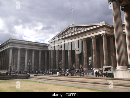 The British Museum  Great Russell Street London - Stock Image