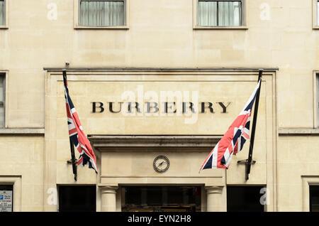The Burberry Store, Bond Street, London, UK - Stock Image