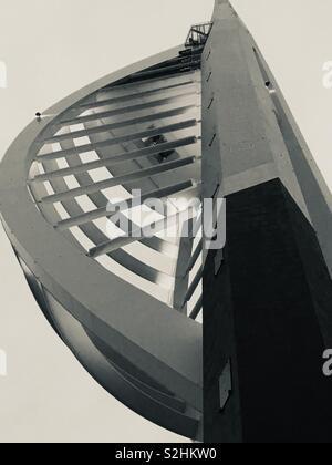 Emirates Spinnaker Tower - Stock Image
