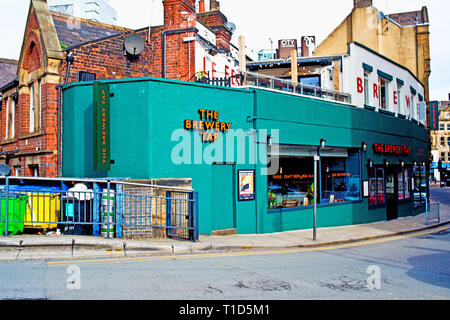 The Brewery Tavern, Old Station Street, Leeds, England - Stock Image