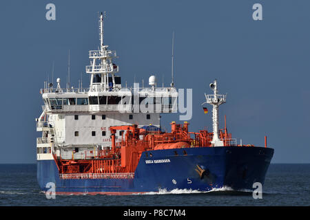 recently renamed tanker Gisela Essberger - Stock Image