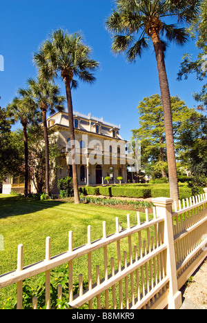 Edward Steves Homestead San Antonio texas tx historic landmark - Stock Image