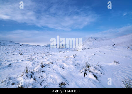 Looking towards Fairfield & St Sunday Crag in the English Lake District. - Stock Image