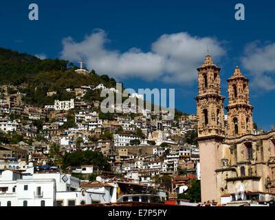 Parroquia De Santa Prisca in Taxco - Stock Image