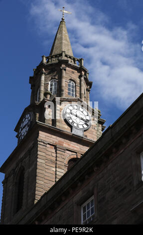 The Guildhall, Berwick upon Tweed - Stock Image
