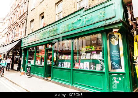 Soho's original book shop, x rated book shop Soho London UK, sex book shop Soho London, Soho's Original - Stock Image