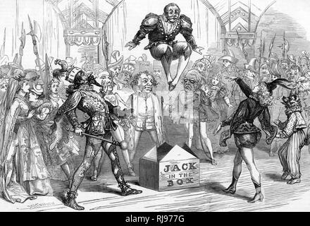 'Jack in the Box' at Drury Lane - Stock Image