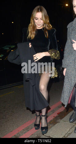 'Killing Eve' star Jodie Comer goes out with a friend  Featuring: Jodie Comer Where: London, United Kingdom When: 19 Mar 2019 Credit: WENN.com - Stock Image