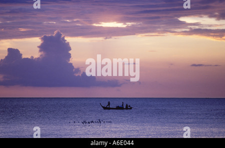 Fisherman Koh Lanta Thailand - Stock Image